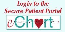 Login to the Secure Patient Portal eChart
